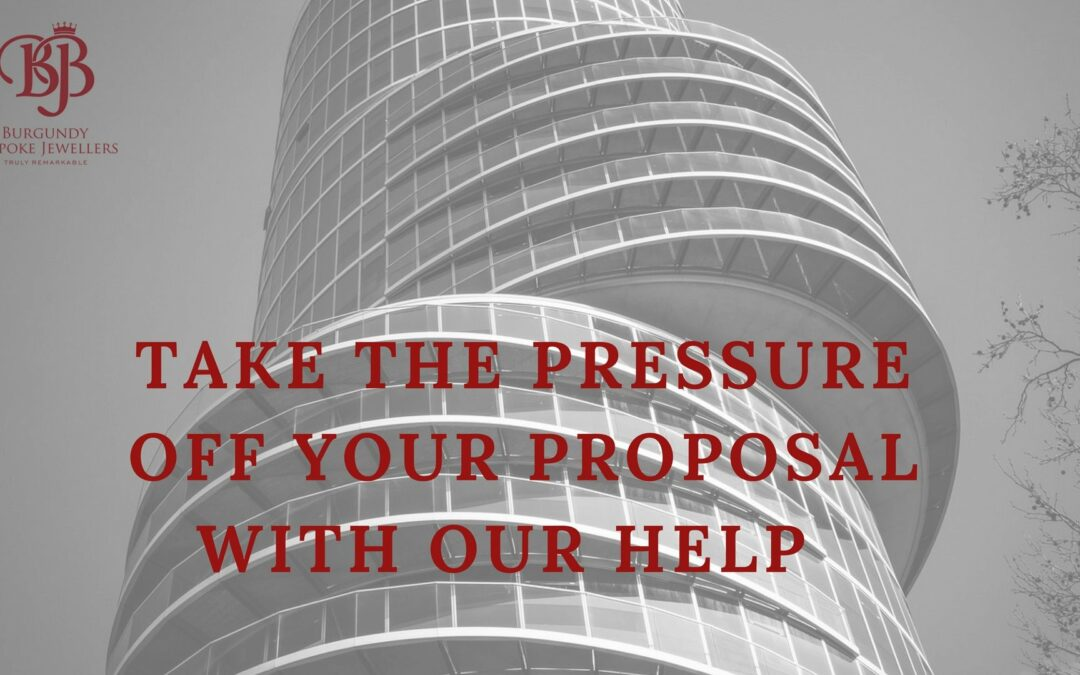 Take The Pressure Off Your Proposal With Our Help
