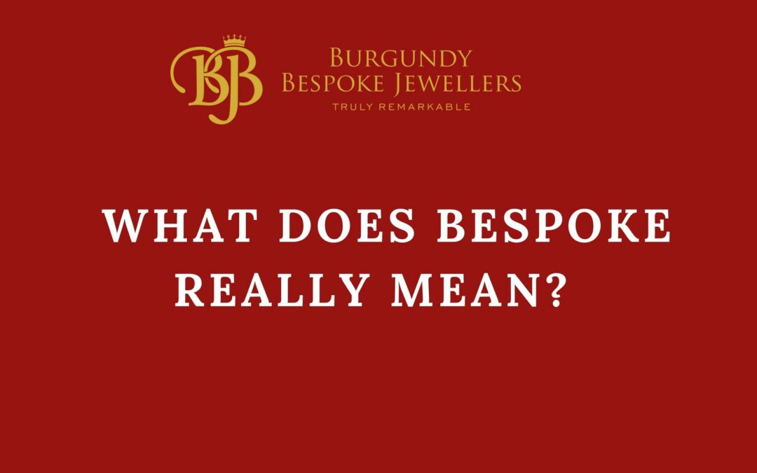 What Does Bespoke Really Mean?