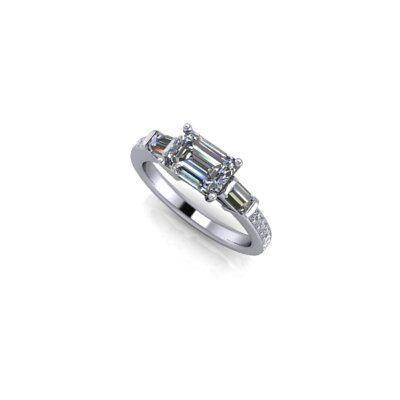 Emerald-cut-multi-diamond-ring-25Aug17