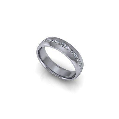 Gents-diamond-set-wedding-band-25Aug17