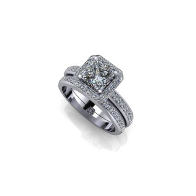 Princess-cut-halo-bridal-set-25Aug17